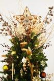 Stella dell'albero di Natale immagini stock libere da diritti