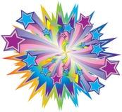 Stella dell'arcobaleno Immagini Stock