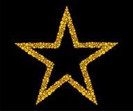 Stella dell'oro illustrazione vettoriale