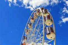 Stella della manifestazione Ferris Wheel fotografie stock