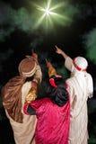 Stella di Bethlehem Immagini Stock