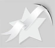 Stella di carta, illustrazione vettoriale