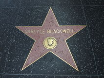 Stella di Caryle Blackwell a hollywood Fotografia Stock