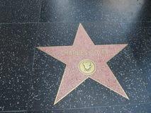 Stella di Charles Boyer a hollywood Fotografia Stock