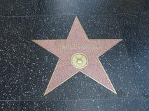 Stella di Charles Boyer a hollywood Fotografie Stock