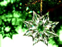 Stella di cristallo Immagine Stock
