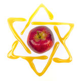 Stella di Davide di Yom Kippur Fotografia Stock