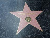 Stella di harvey di Steve a hollywood Immagini Stock Libere da Diritti