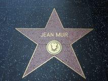 Stella di Jean Muir a Hollywood Immagine Stock Libera da Diritti