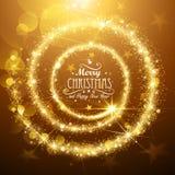 Stella di magia di Natale Fotografia Stock
