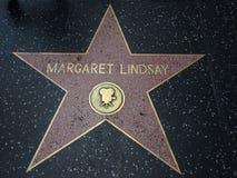 Stella di Margaret Lindsay a hollywood Immagini Stock Libere da Diritti