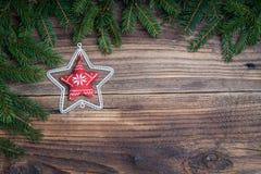 Stella di Natale Fotografia Stock