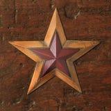Stella di Natale dell'oggetto d'antiquariato Fotografia Stock Libera da Diritti