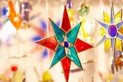 Stella di natale - Weihnachtsstern Fotografia Stock