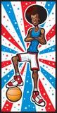 Stella di pallacanestro royalty illustrazione gratis