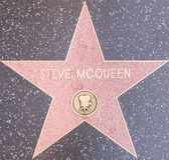 Stella di Steve mcqueen Fotografia Stock