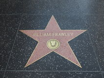 Stella di William Frawley a hollywood Fotografia Stock