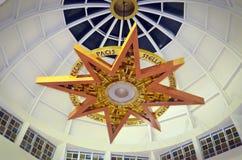 Stella Dome church catholic. Details royalty free stock image