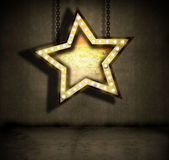 Stella Grungy Immagine Stock Libera da Diritti