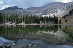 Stella Lake in Great Basin National Park, Nevada Stock Image