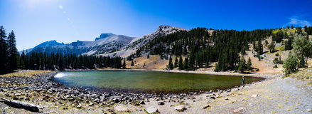 Stella Lake Panorama in Great Basin National Park Royalty Free Stock Photography