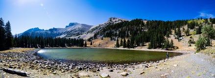 Stella Lake Panorama nel grande parco nazionale del bacino Fotografia Stock Libera da Diritti