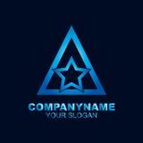 Stella Logo Template Immagine Stock