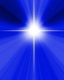 Stella luminosa Fotografia Stock Libera da Diritti