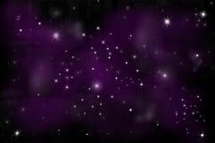 Stella luminosa nello spazio Immagini Stock Libere da Diritti