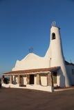 Stella Maris Church in Porto Cervo Royalty-vrije Stock Foto's