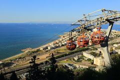 Stella Maris, Haifa Fotos de archivo libres de regalías