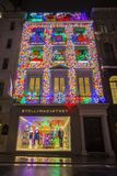Stella McCartney Store in London at Christmas stock images