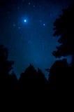 Stella nel cielo Immagini Stock Libere da Diritti