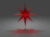 stella Otto-aguzza con effetto caustico Immagine Stock