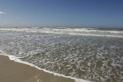 Stella Plage in Nord Pas de Calais Royalty Free Stock Photography