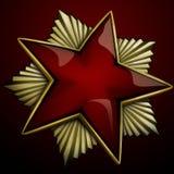 Stella rossa Immagine Stock Libera da Diritti