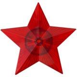 Stella rossa Immagine Stock