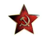 Stella rossa, Unione Sovietica Fotografie Stock