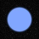 Stella su fondo cosmico royalty illustrazione gratis