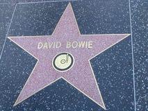 Stella sulla passeggiata del boulevard di Hollywood di fama in LA Immagine Stock Libera da Diritti