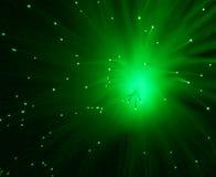 Stella verde Immagine Stock