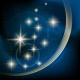 Stellar background Stock Image