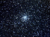 Stellar cluster. Star cluster, image to the telescope Stock Image
