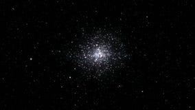 Stellar cluster seamless loop stock video footage