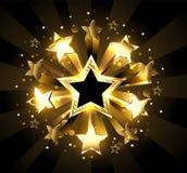 Stellar explosion Stock Image