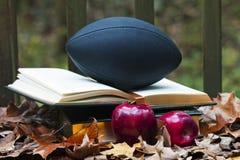 Stellar Football Scholar Stock Photo