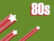 stelle 80s Fotografia Stock