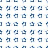Stelle blu Immagini Stock