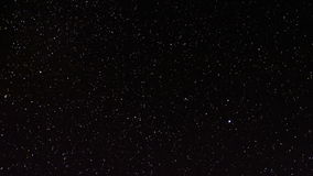 Stelle in cielo notturno video d archivio