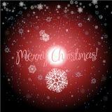Stelle con il Natale fondo ed il vettore della cartolina d'auguri Illustrazione di Stock